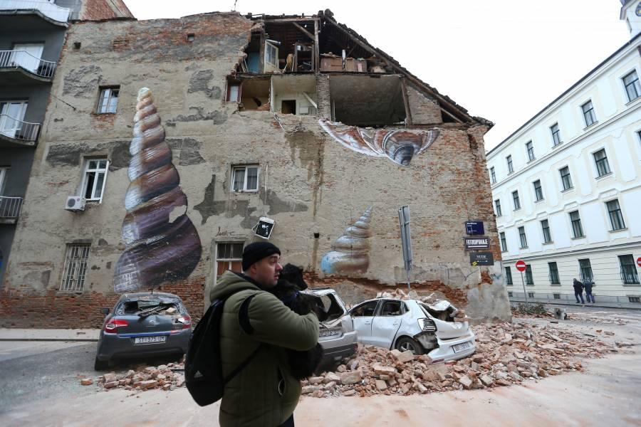 Sismo cimbra a Croacia