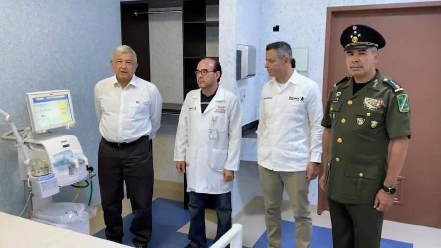 Otorga AMLO al Ejército control de 10 hospitales para atender coronavirus