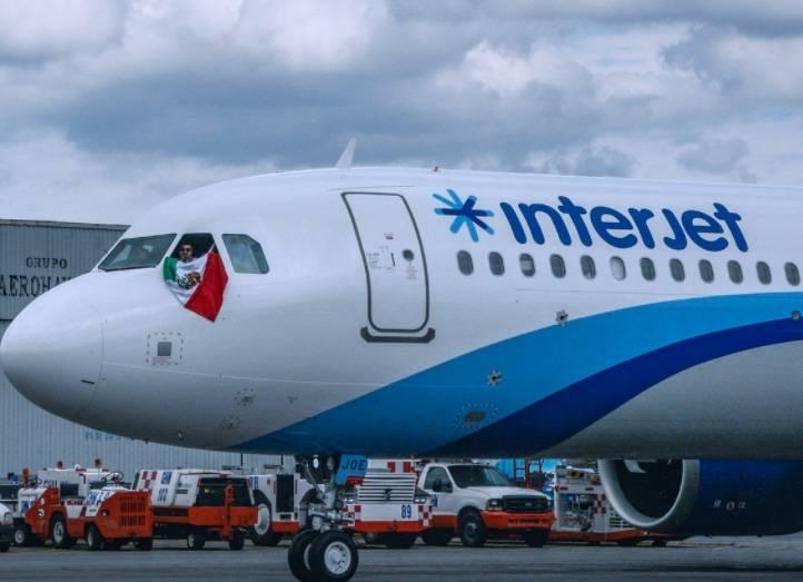 Interjet suspende vuelos internacionales por el Covid-19