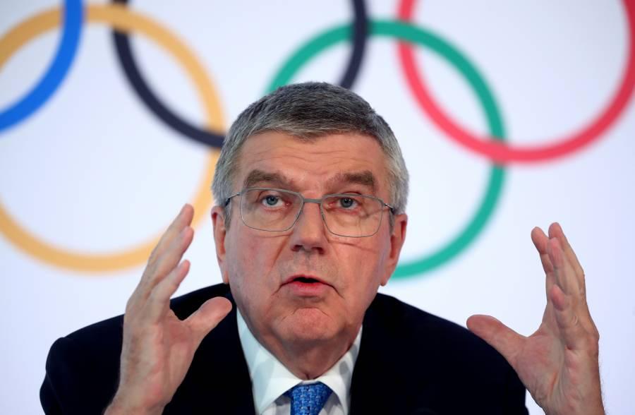 No se puede destruir el sueño olímpico de los atletas: Thomas Bach