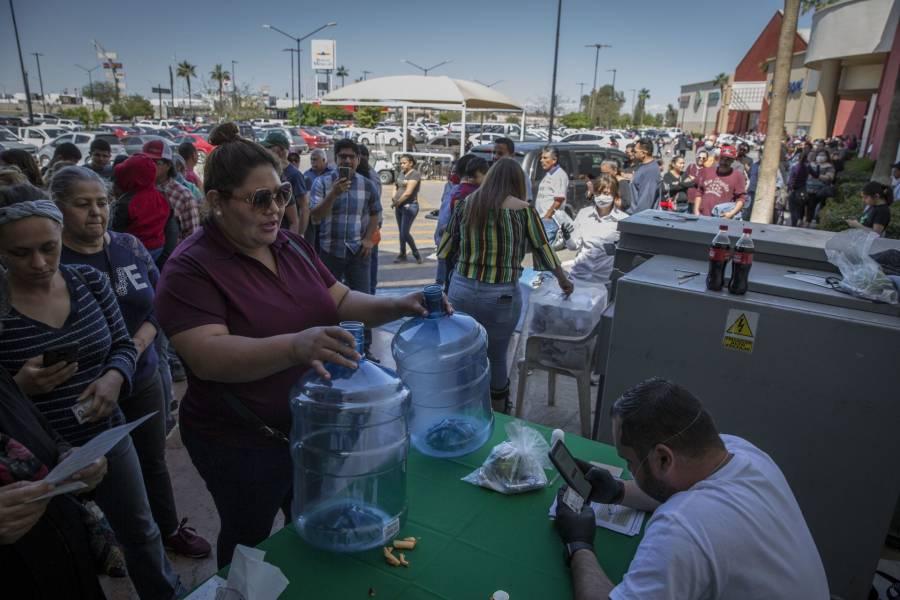 """Habitantes de Mexicali dicen """"no"""" a la construcción de una cervecera"""