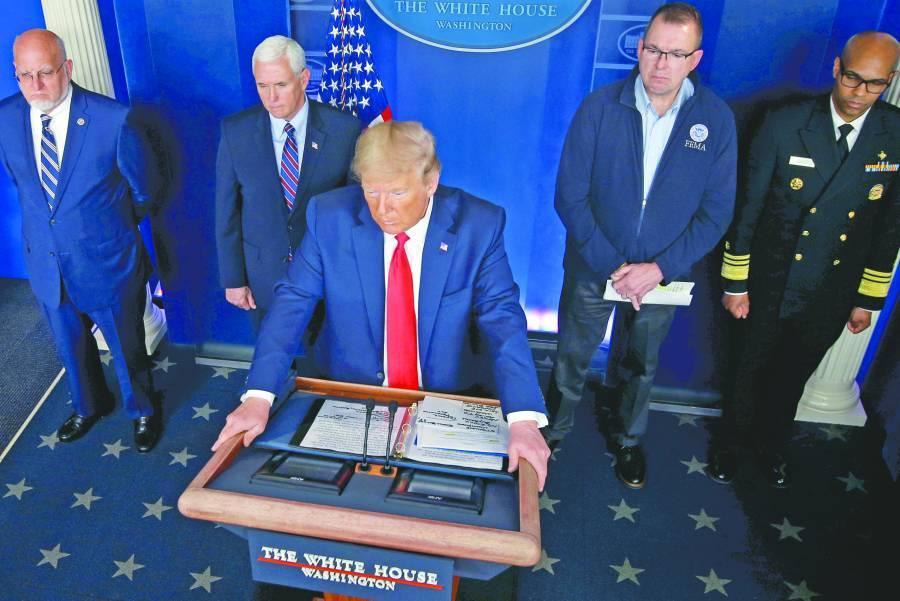 """""""Estamos en guerra"""": Donald Trump"""