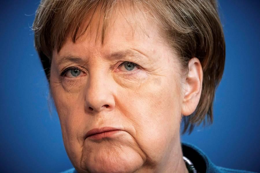 Merkel da negativo en prueba de coronavirus