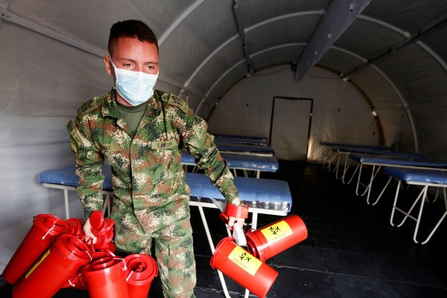 Hospital Militar, nueva sede para el combate del Covid-19 en Colombia