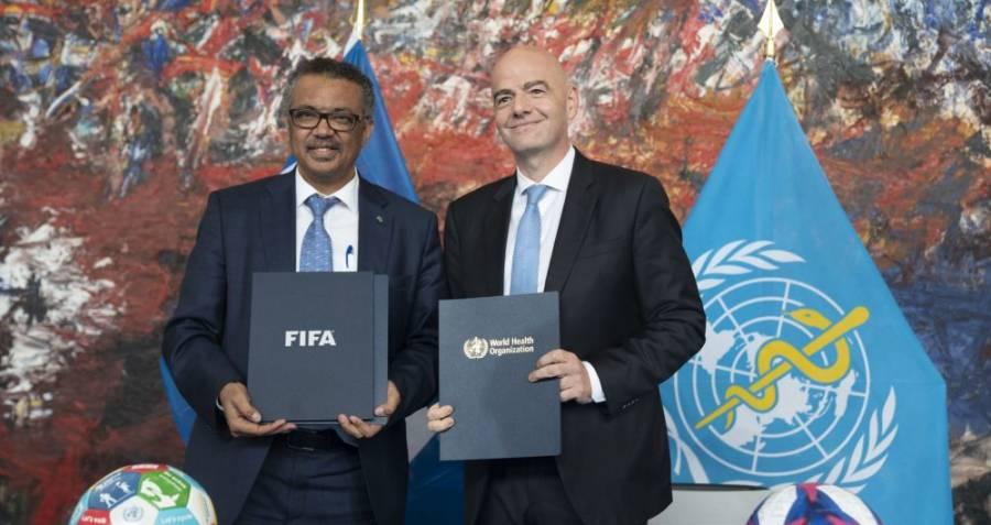FIFA y OMS se unen para combatir el coronavirus