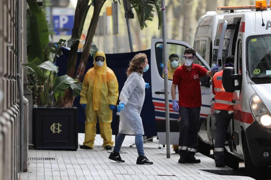 Suman dos mil 182 muertos por coronavirus en España