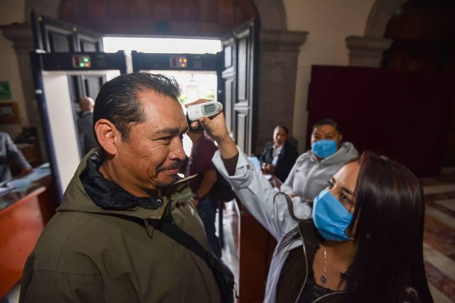 Reportan 37 casos de Covid-19 en el Estado de México