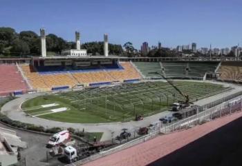 Estadio Pecaembú se convertirá en hospital para atender Covid-19 en Sao Paulo