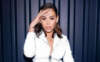 Danna Paola ofreció concierto sorpresa en redes