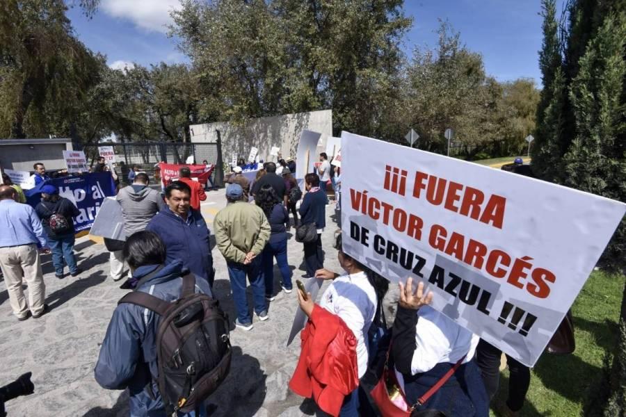 TSJCDMX no reconoce personalidad jurídica a Victor Garcés Rojo
