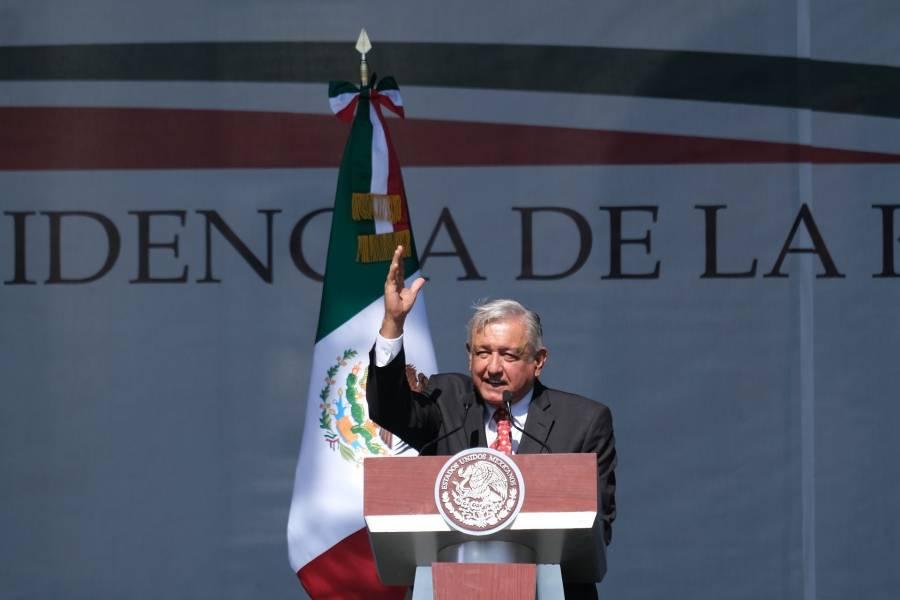 Informe de AMLO no será en el Zócalo, sino en Palacio Nacional por coronavirus