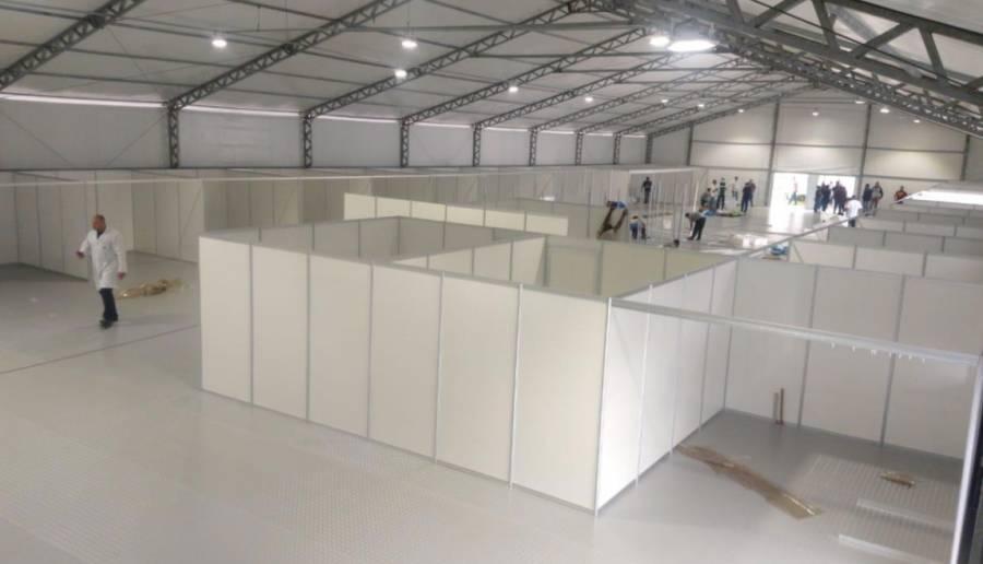Conmebol abre sus instalaciones para atender Covid-19