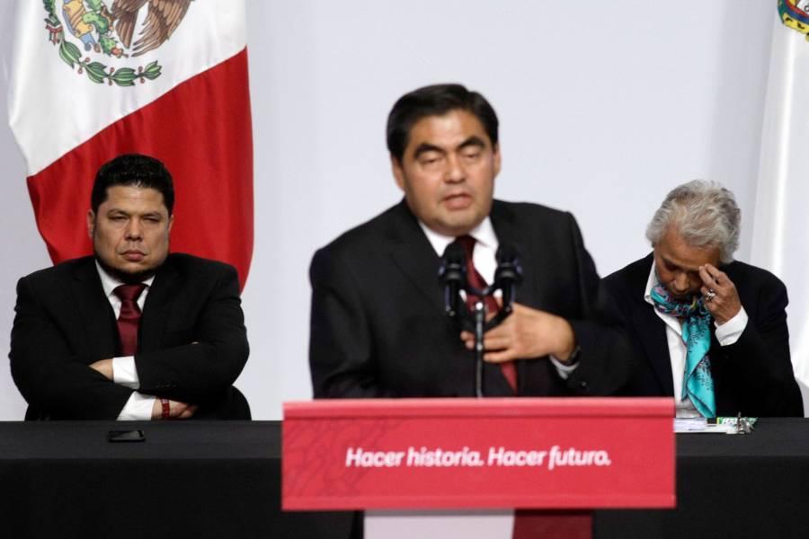 Barbosa planea estrategia para evitar saqueos en Puebla