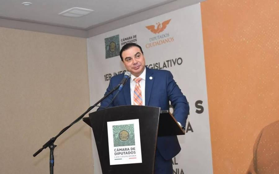 Diputado de Movimiento Ciudadano da positivo en prueba de coronavirus