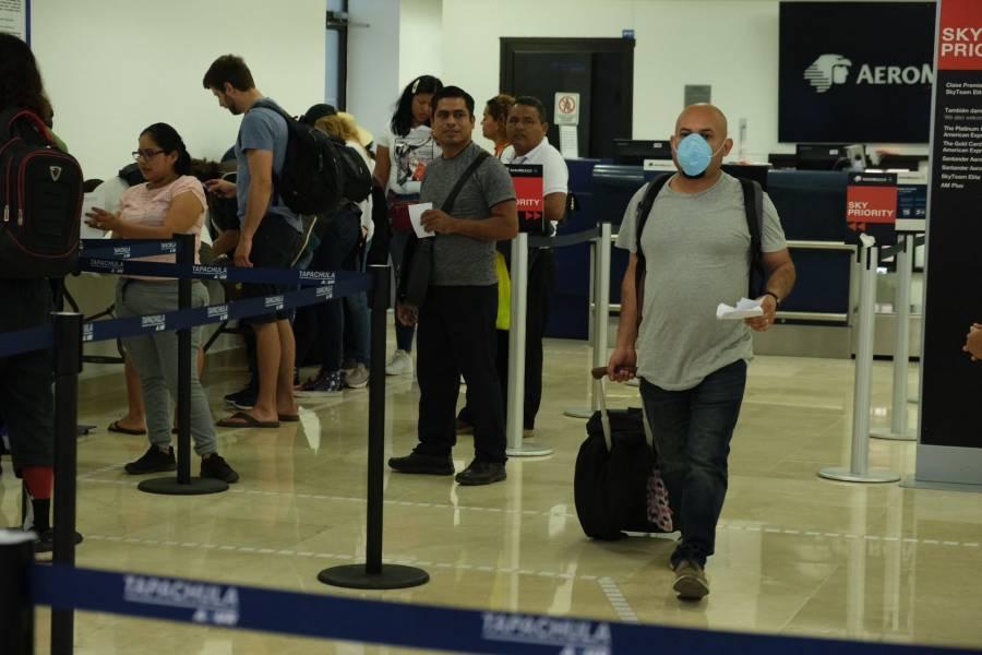 Chiapas confirma dos casos más de Covid-19