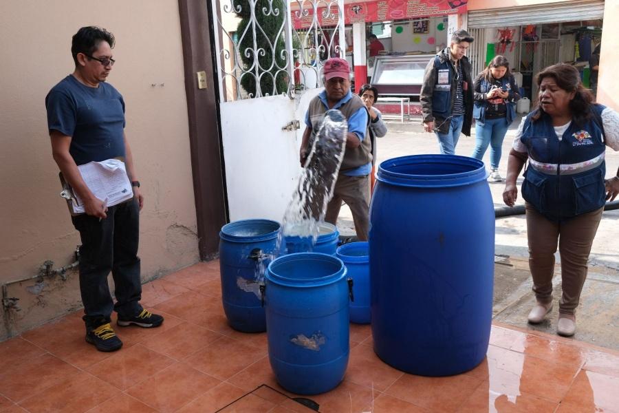 GCDMX: Trabajamos en plan para falta de agua