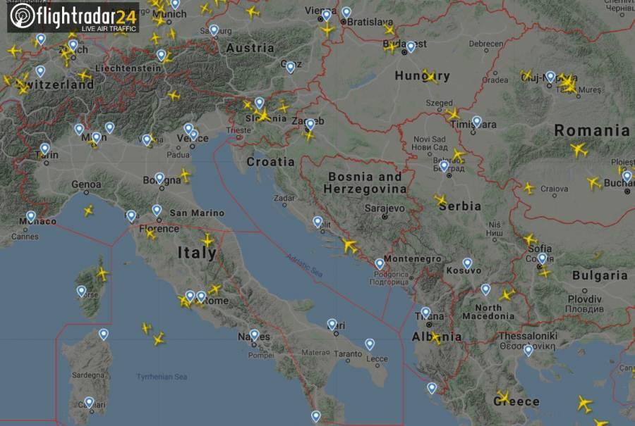 Reduce el tráfico aéreo del mundo tras Covi-19