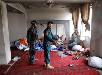 Ataque terrorista contra templo en Kabul deja 25 muertos