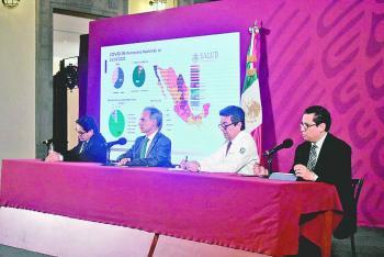 Pandemia en México se podría prolongar hasta octubre
