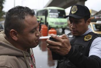 Alcoholímetro será suspendido en la CDMX por coronavirus