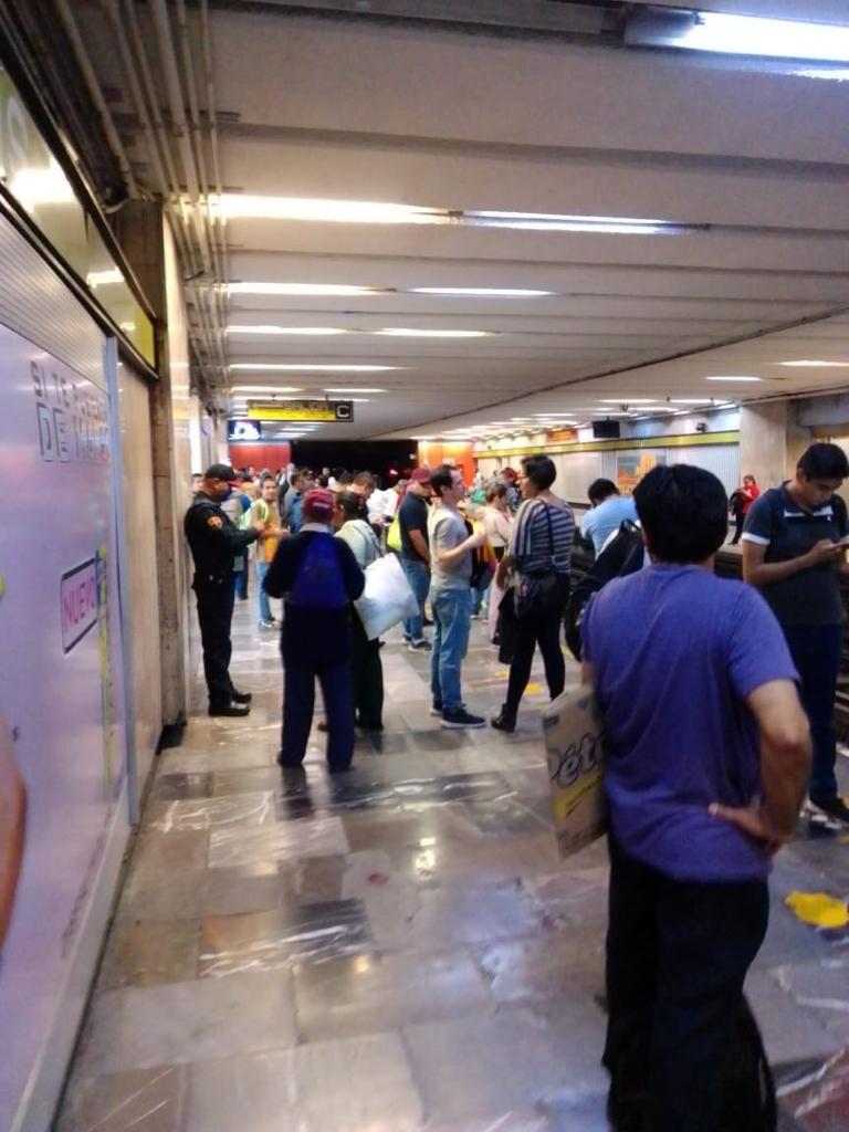 Pese a fase 2, metro sigue con estaciones sin medidas