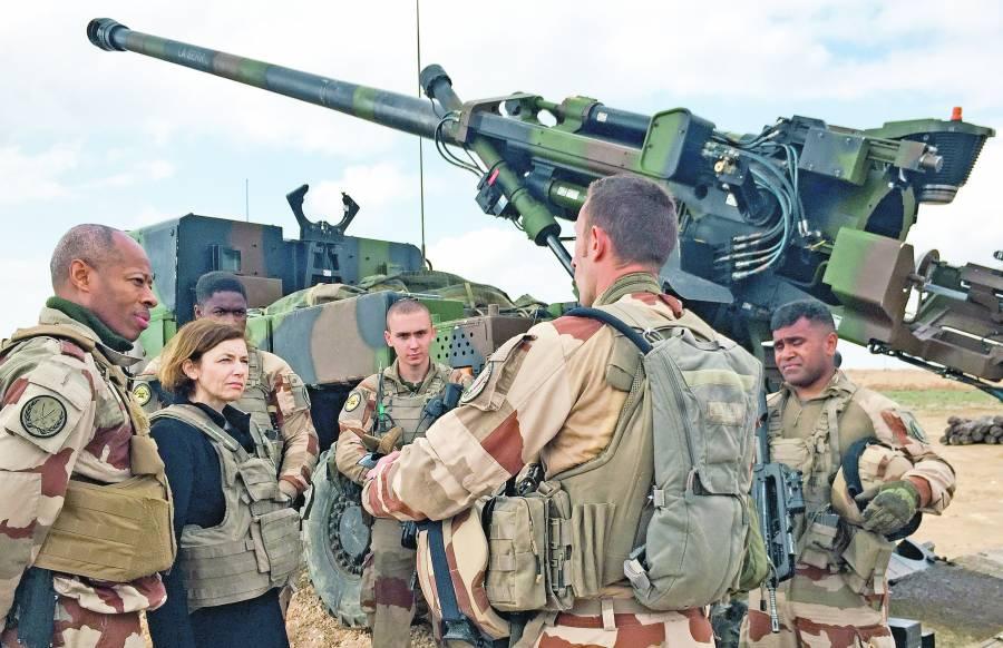 Francia retira sus tropas de  Irak a causa del coronavirus