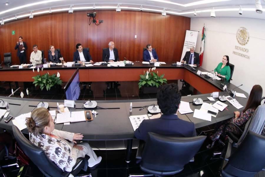 …Y Senado instala Grupo Plural de Trabajo
