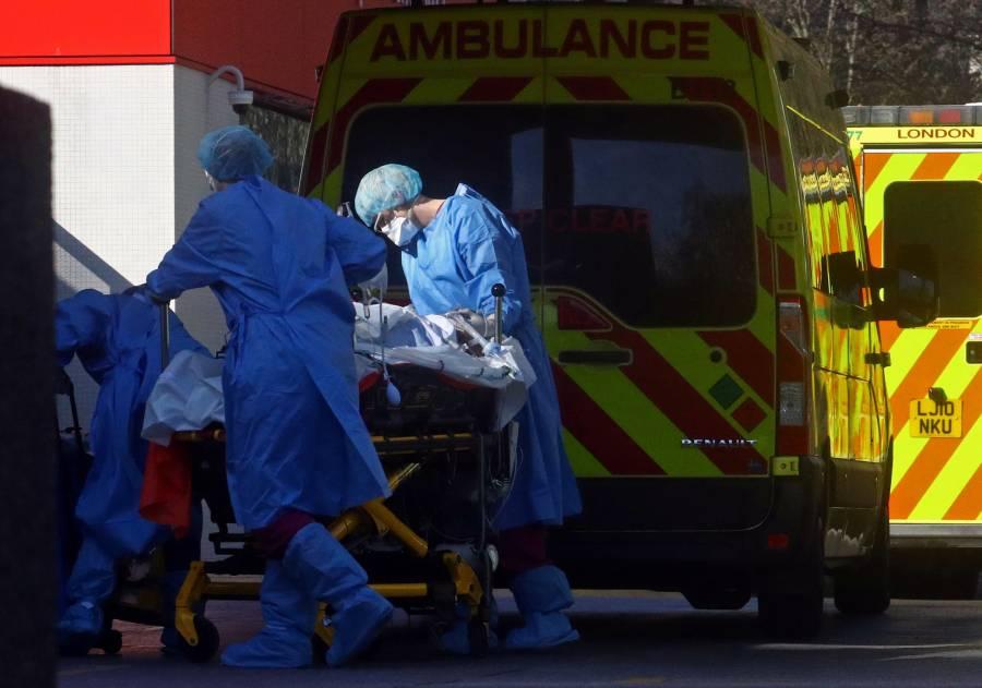 Reino Unido supera el centenar de muertos por Covid-19 en un día