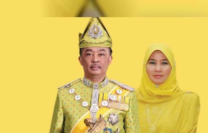 El Sultán de Malasia y su esposa entran en cuarentena, como medida preventiva