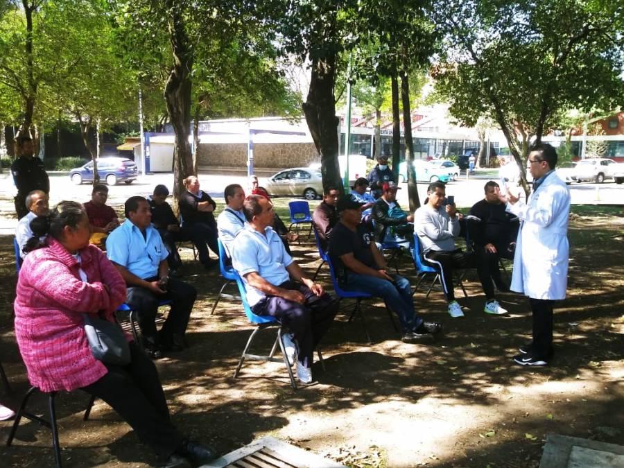 Capacita UNAM a personal de guardia en contingencia sanitaria