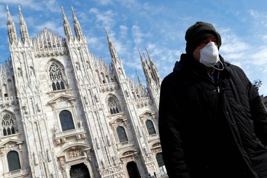 Italia supera número de decesos en un día, casi mil ciudadanos fallecieron