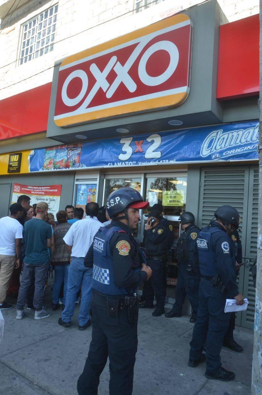 Van 88 detenidos y 40 robos durante contingencia en CDMX
