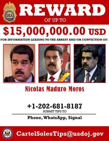 Desafía Maduro a Trump y lo llama miserable