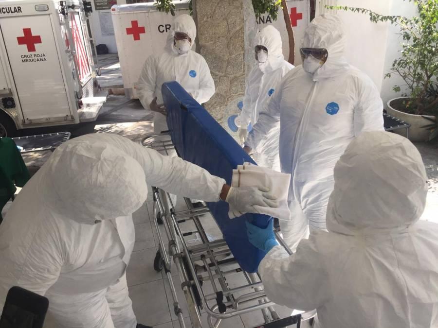 Capacitan a paramédicos de Cruz Roja contra posibles contagios de coronavirus