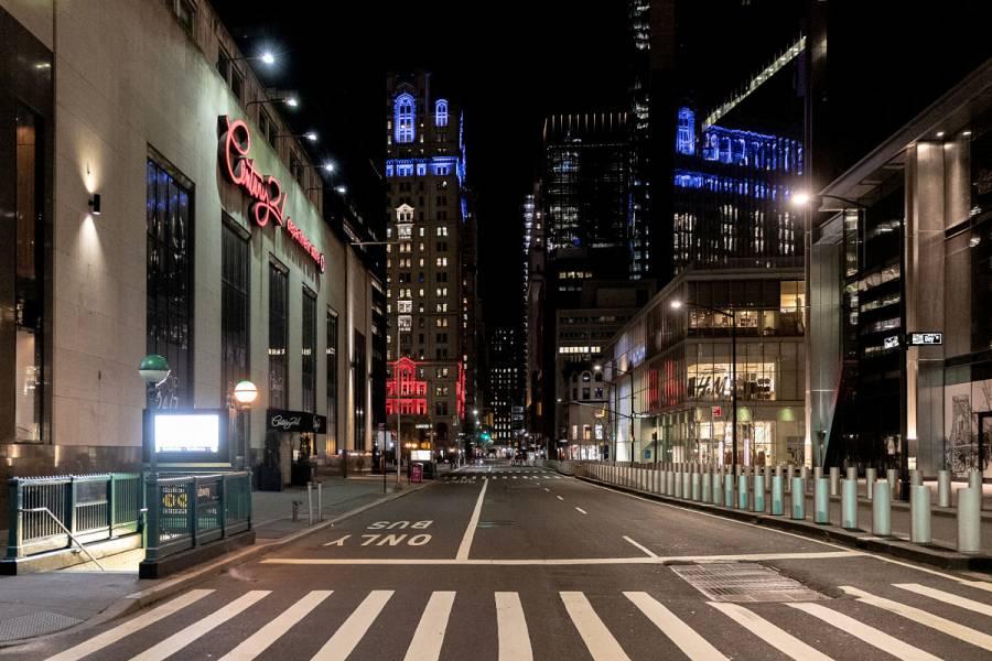 Nueva York, epicentro del brote de Covid-19 en EEUU
