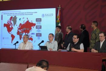 Avión de la Sedena irá por mexicana varada en Perú: Ebrard