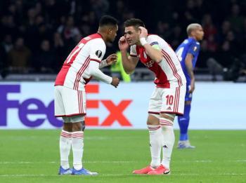 UEFA multa al Ajax por incidentes en juego ante Getafe