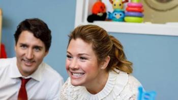 Sophie Trudeau se recupera satisfactoriamente