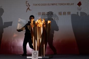 Resguardan fuego olímpico y queda en espera de nueva fecha