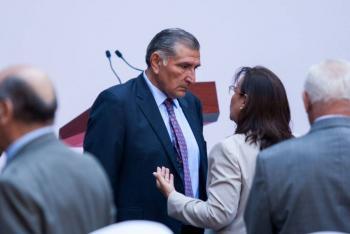 Gobernador de Tabasco Adán Augusto López, positivo por Covid-19