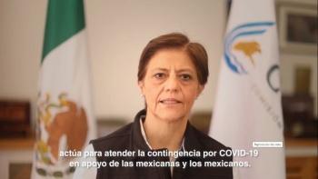 Conagua anuncia seis medidas para pandemia