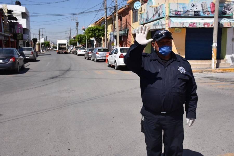 SP de Soledad inicia campaña en las calles para prevenir Covid-19