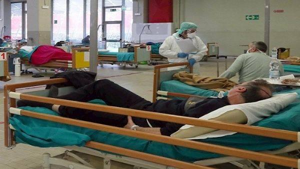 Ascienden a 11 mil 591 los fallecimientos en Italia por Covid-19