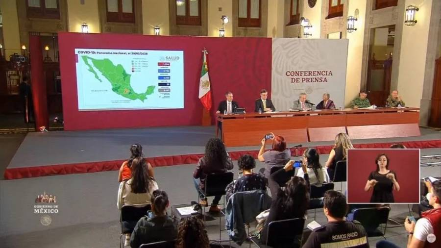 Determinan suspensión de actividades no esenciales hasta el 30 de abril en México