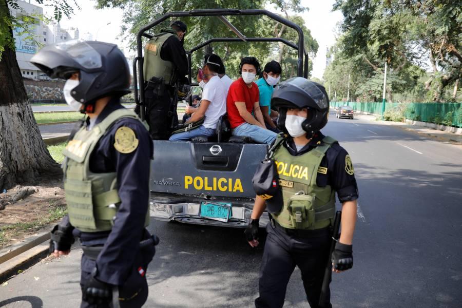 Perú extiende horario de toque de queda por Covid-19