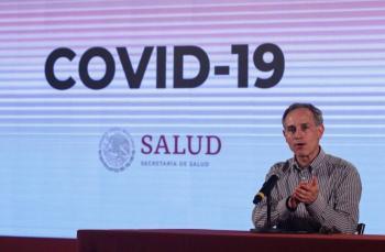 López-Gatell: coronovirus, una epidemia larga hasta septiembre