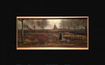 Roban pintura de Van Gogh de museo holandés durante cierre por pandemia