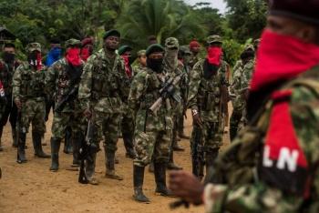 Hasta la guerrilla colombiana  para actividades por Covid-19
