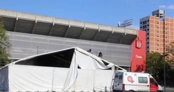 Estadio de Estudiantes de la Plata se convertirá en hospital de campaña