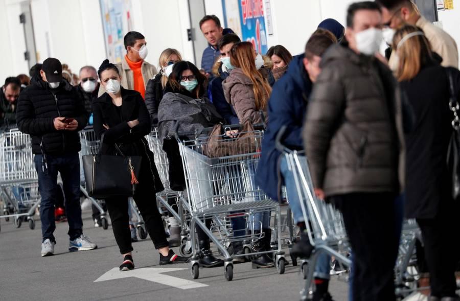 """Italia llega a su """"pico"""" de contagios de coronavirus, pronto podría comenzar el descenso"""